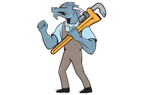 Dragon Plumber Monkey Wrench Fist Pu