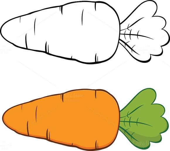 Cartoon Carrot Collection