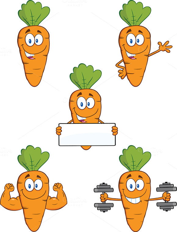 Carrot Mascot Collection 3