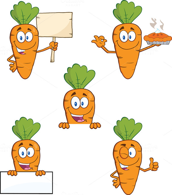 Carrot Mascot Collection 4