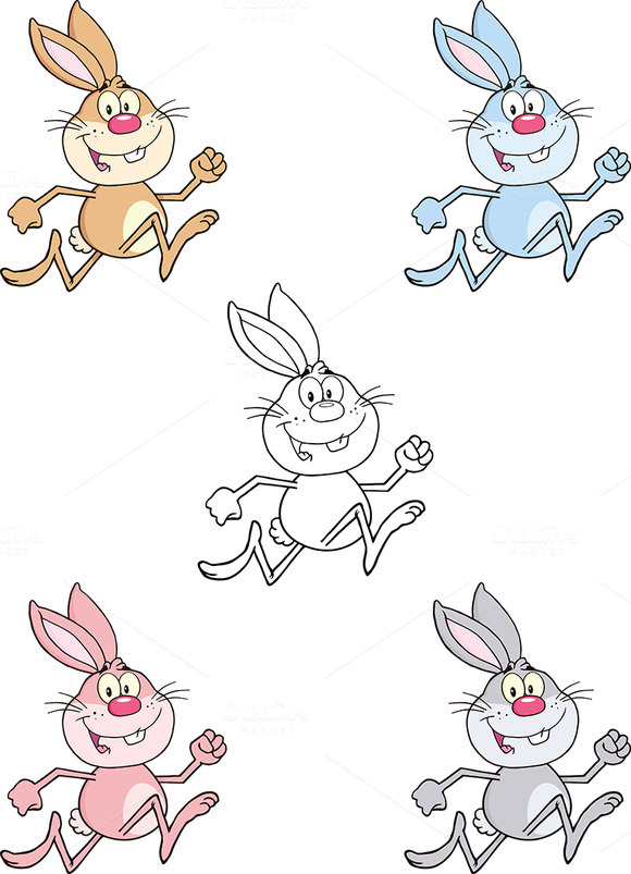 Easter Rabbit Collection 4
