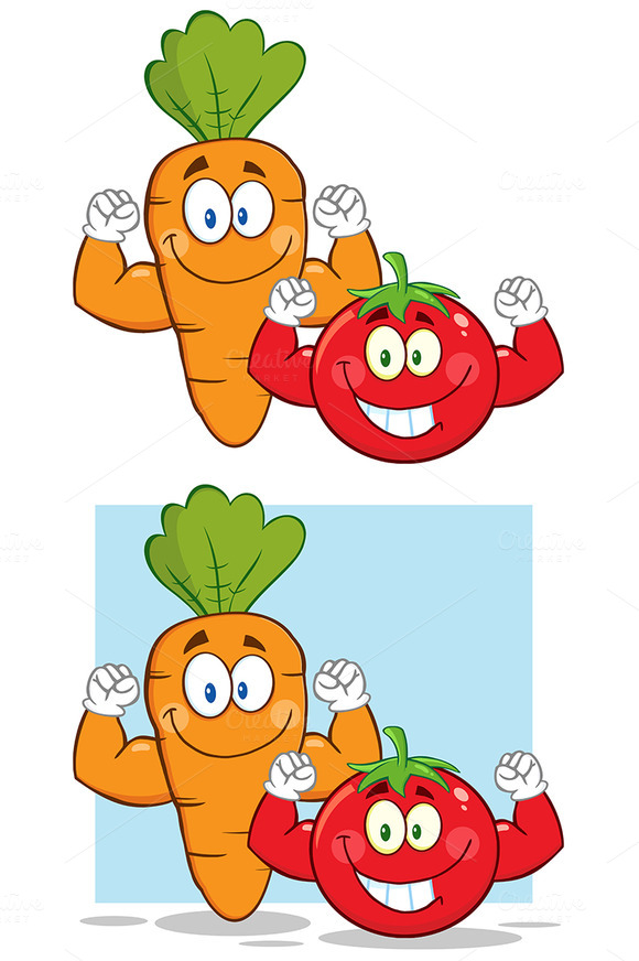 Carrot And Tomato Collection