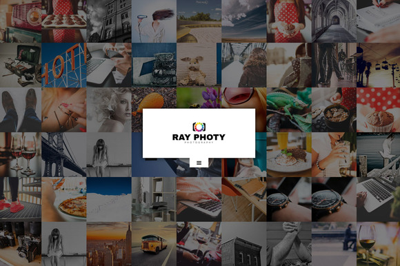 RayPhoty Photography Wordpress Theme