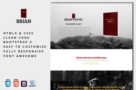 Brian E-Book Landing Page