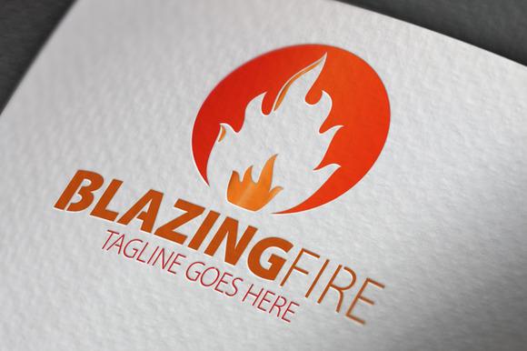 Blaczing Fire Logo