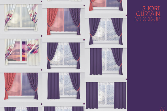 SHORT CURTAIN MOCK-UP