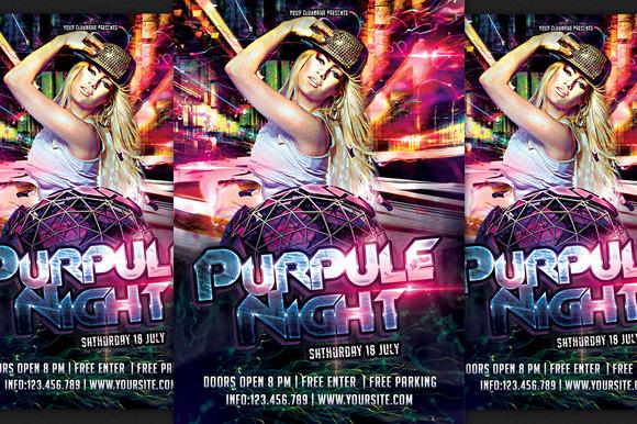 Purpule Night Party