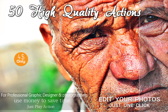 50 High Quality Actions