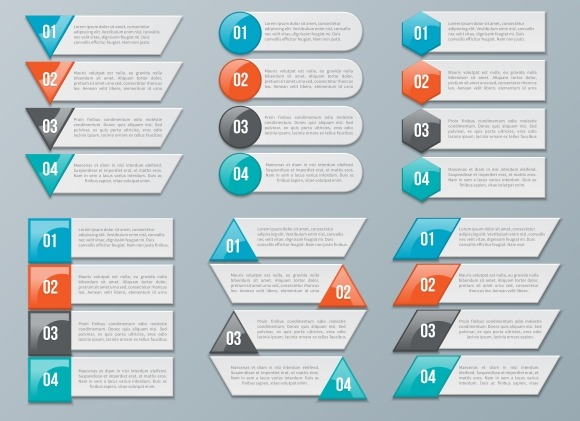 Number Options For Infographics