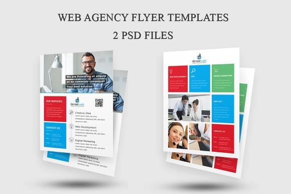 Web Agency Flyer Templates