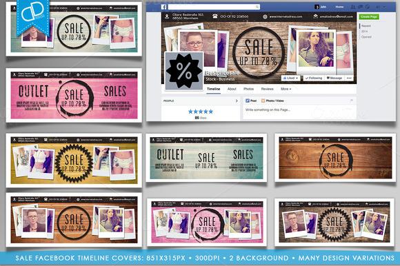 SALE Facebook Timeline Covers