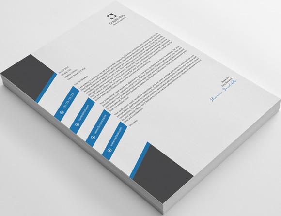 Modern A1 Business Letterhead
