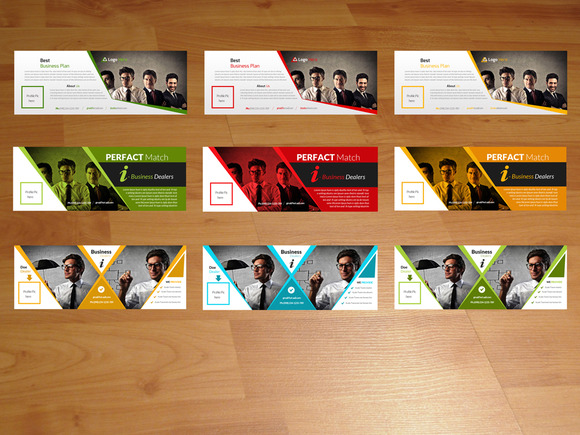 Pack Of 3 Business Timelines