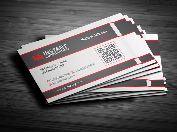Corporate Business Card 4