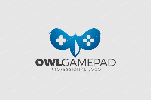 Owl Gamepad Premium Logo