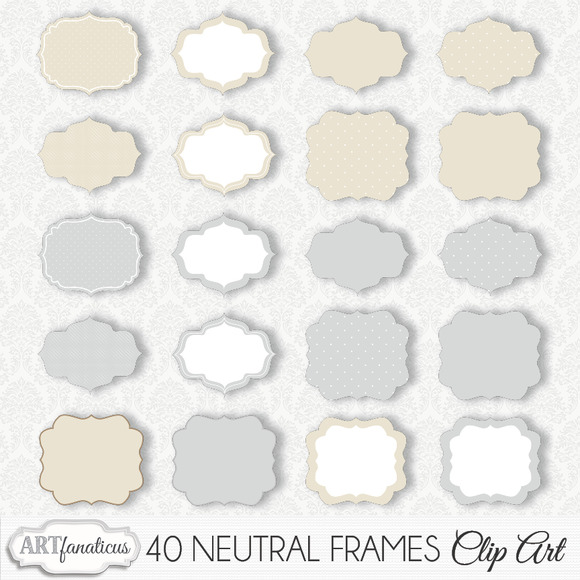 NEUTRAL FRAMES CLIPART