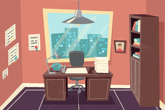 Business Working Office Room