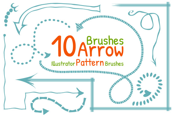 Arrow Pattern Brushes