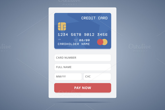 Payment Application Form With Credit