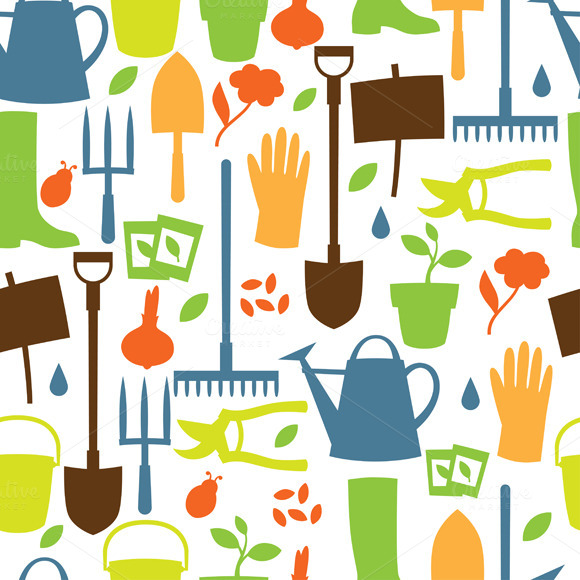 Garden Seamless Patterns