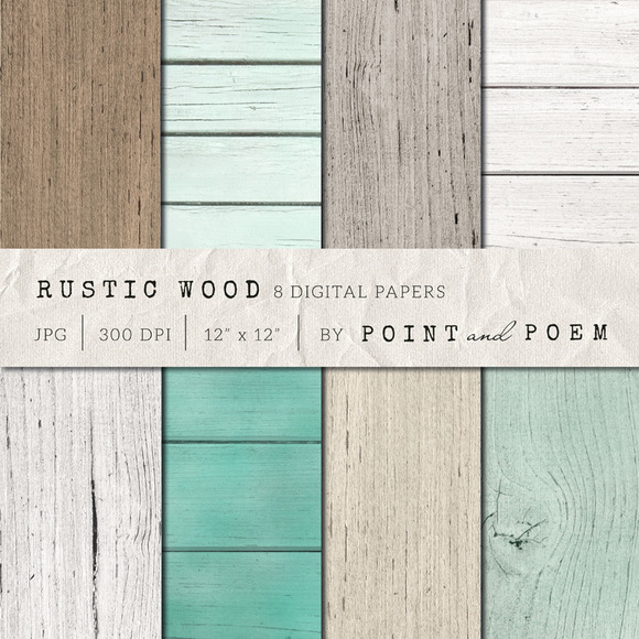 Rustic Wood Texture Pack