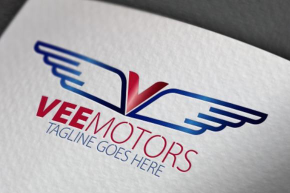 Vee Motors V Letter Logo
