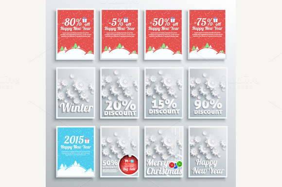 Winter Sale Posters
