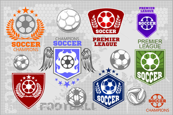 Soccer Labels 30 Players