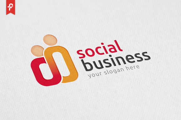 Social Business Logo