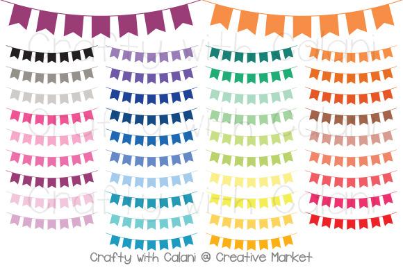 Tassel Pennant Bunting In 38 Colors