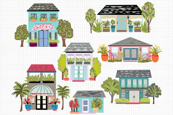 Houses Clip Art 7