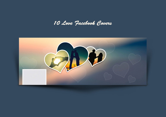 10 Love Facebook Covers
