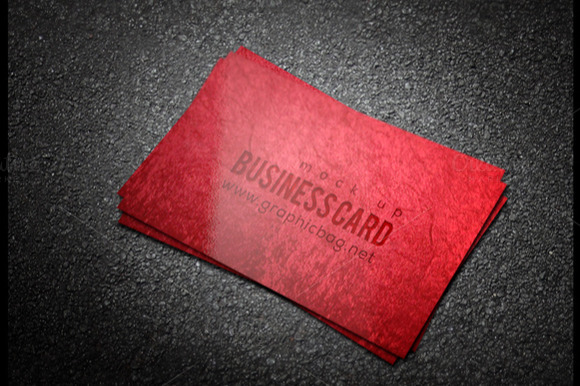 Shainy Business Card Mockups