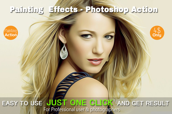 Painting Effects Photoshop Action