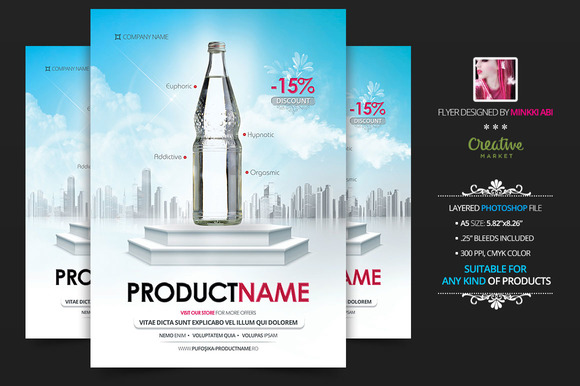 Product Showcase Vs 3 Flyer