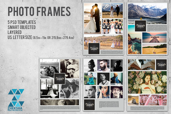 Photo Frames Collages