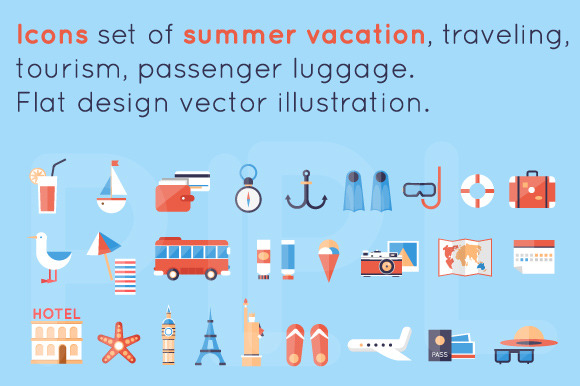 Summer Vacation Traveling Tourism