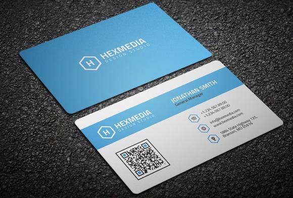 Modern Corporate Business Card 21