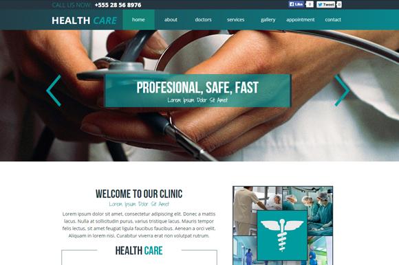 Dental Medical Landing Page