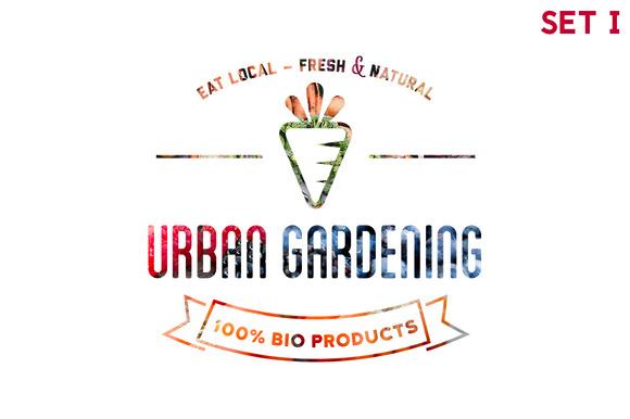 Urban Gardening 30xHiRes SET 1