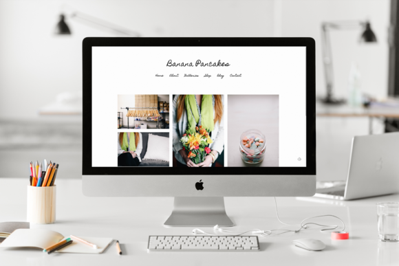 Banana Pancakes Wordpress Theme 2.0