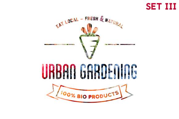 Urban Gardening 30xHiRes SET 3