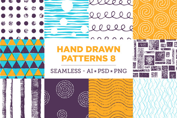 Hand Drawn Patterns 8