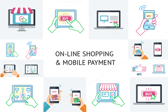 Mobile Payment And Online Shopping