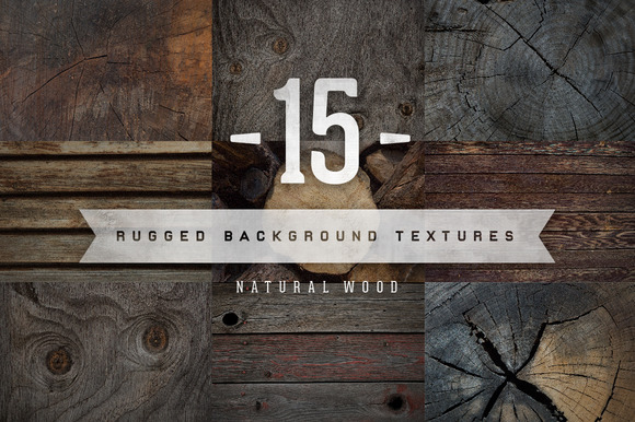 Natural Wood Backgrounds Vol 1