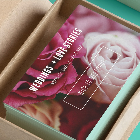 Floral Vintage Business Card