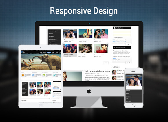 Free Responsive Category Slider