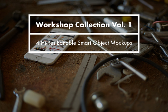 Workshop Collection Mockups Vol 1