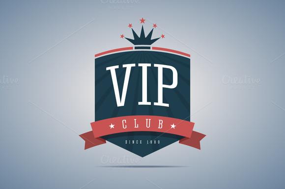 Vip Club Sign