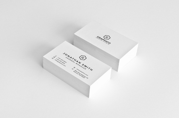 Simple Corporate Business Card 22
